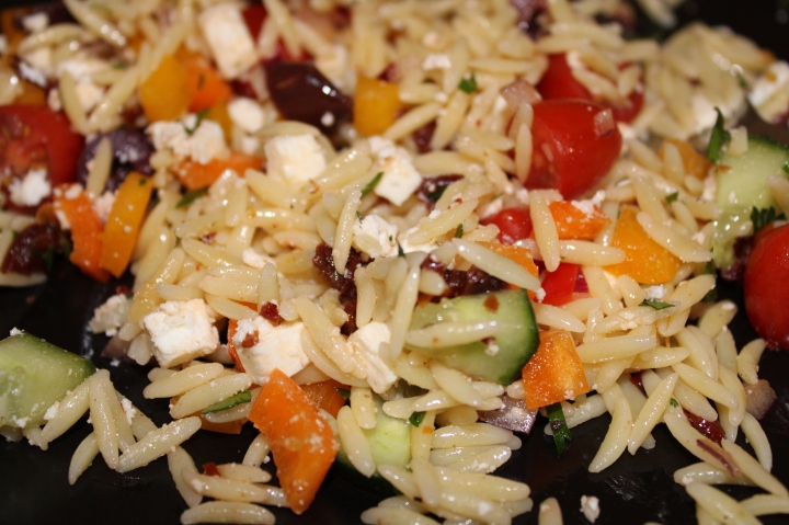 Easy Orzo Salad